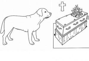 enterrement chien
